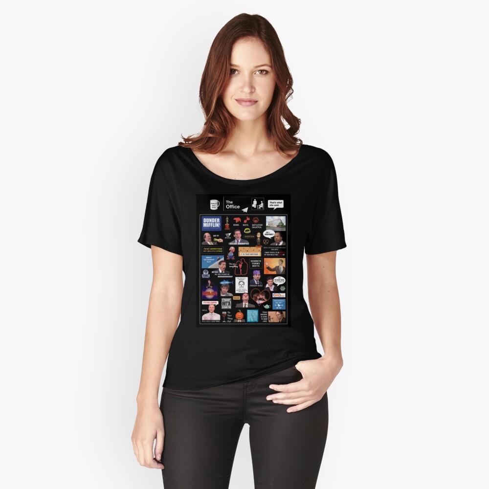 Das Büro US-Montage Loose Fit T-Shirt