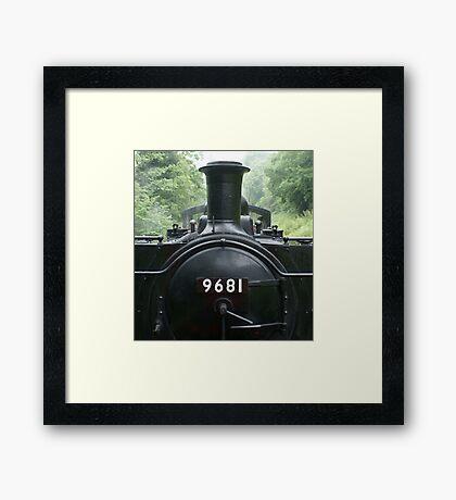9681 Pannier Tank Engine Framed Print
