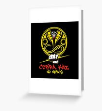 Cobra Kai special edition Greeting Card