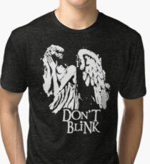 Doctor Who Don't Blink Tri-blend T-Shirt