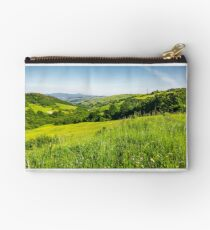 lovely mountainous countryside in summertime Studio Pouch