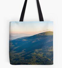 beautiful mountainous landscape in summer Tote Bag