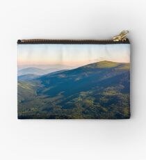 beautiful mountainous landscape in summer Studio Pouch