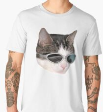 Cool Cat #8 Men's Premium T-Shirt