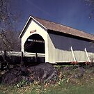 Wimer Covered Bridge by Christopher  Boswell