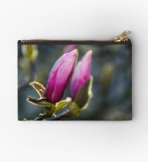 blossom of magnolia flowers Studio Pouch