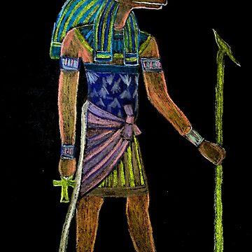 Anubis by patjila