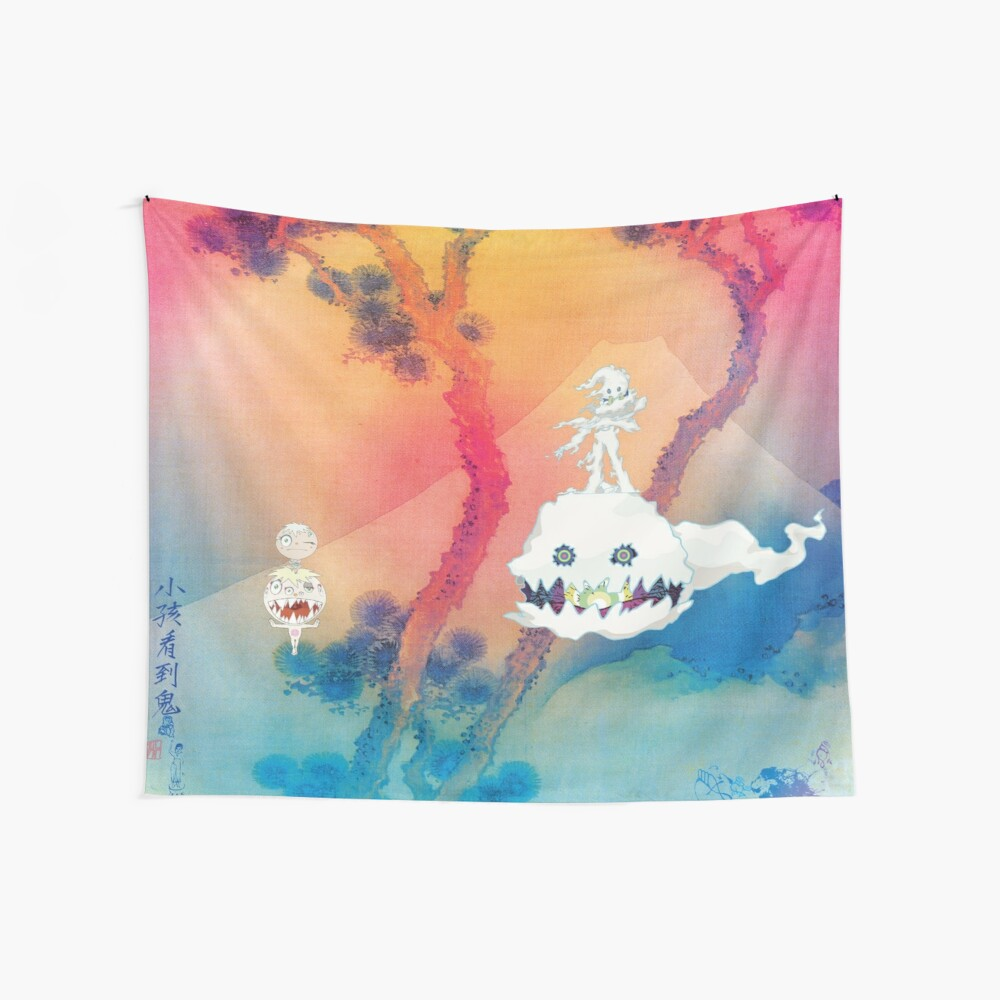 KIDS SEE GHOSTS Wall Tapestry