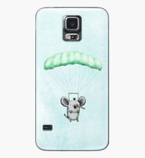 Cutie Parachuting Elefant Hülle & Skin für Samsung Galaxy