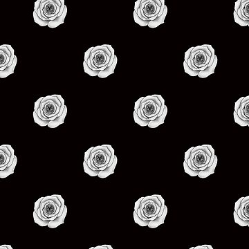 Skull Roses by mysticline