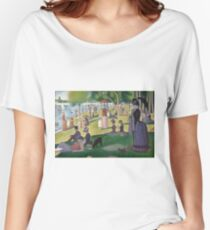 A Sunday Afternoon on the Island of La Grande Jatte Women's Relaxed Fit T-Shirt
