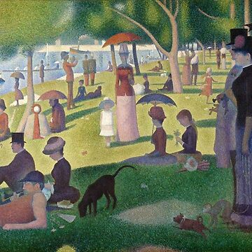 A Sunday Afternoon on the Island of La Grande Jatte by key-change
