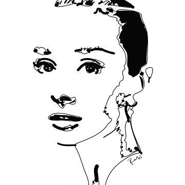 Audrey Hepburn by rabikhan