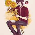 Sunflower Boy by lordzuuko
