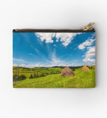 beautiful rural scenery in mountains Studio Pouch