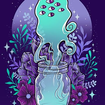 Jar Ghost by retkikosmos