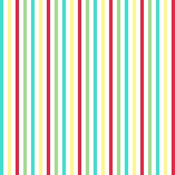Whimsical Multi Striped  by KZiegman