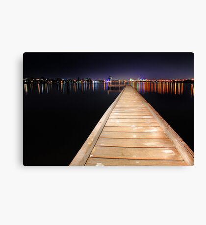 The Jetty  Canvas Print