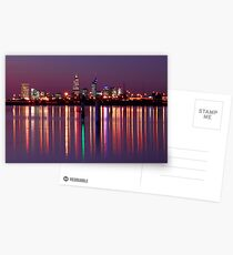 Perth City Reflections  Postcards