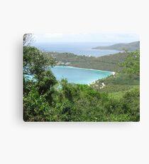 Carribean Sea Canvas Print