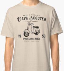 Vintage Piaggio Vespa Scooter 1953 125cc T Shirt Original Design Classic T-Shirt