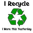 I Recycle by imphavok
