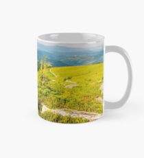 landscape in Carpathian high mountain ridge Mug
