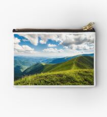 beautiful scenery on a summer day in mountains Studio Pouch