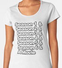 Six Seasons & A Movie Women's Premium T-Shirt
