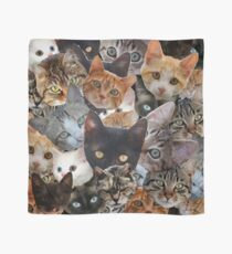 Kitty Collage Scarf