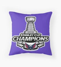 Washington Capitals, 2018 Stanley Cup Champions Throw Pillow