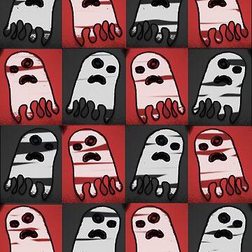 badly drawn ghost by IanByfordArt