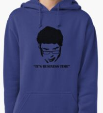 It's Business Time Pullover Hoodie