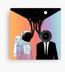 Ein Porträt von Raum und Zeit (Eine Studie der Existenz) Leinwanddruck