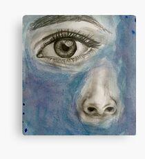 Eye/Nose Metal Print