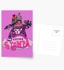 My Little Stompa Postcards