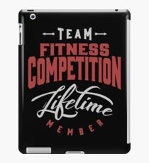 Team Fitness Competition iPad Case/Skin