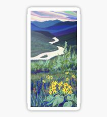 Kootenay River Valley Sticker