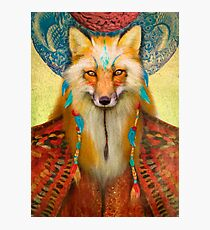 Wise Fox Photographic Print