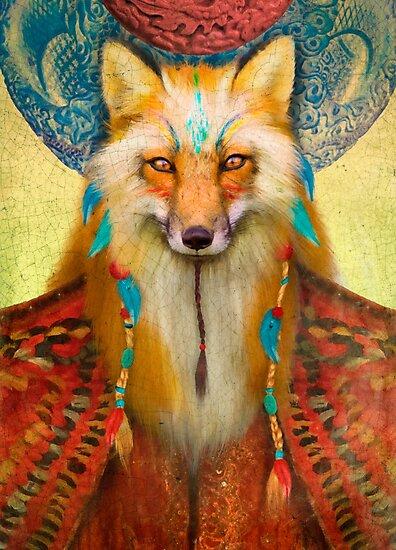 Wise Fox by Aimee Stewart