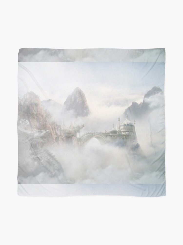 Alternate view of Palace of the Sky Dragons Scarf