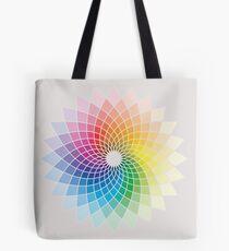 Colour Flower Tote Bag