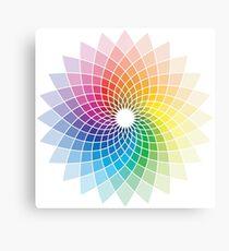 Colour Flower Canvas Print