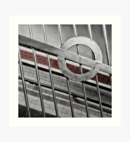 Arsenal Tube Station Art Print