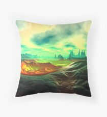 Dream Landscape Throw Pillow