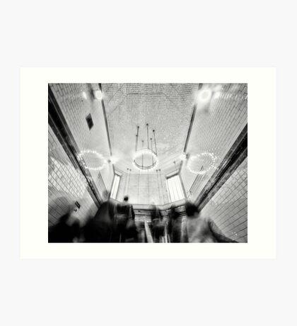 Balham Tube Station Art Print
