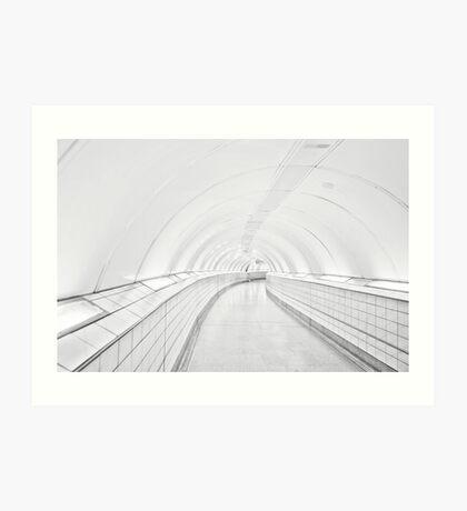 Bank Tube Station Art Print