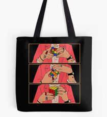 Harry Styles Rubik's Cube Tote Bag