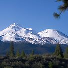 Mount Shasta by Christopher  Boswell