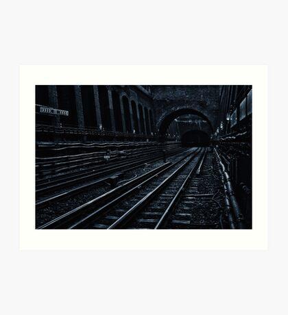 Bayswater Tube Station Art Print